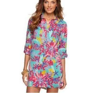 Lilly Pulitzer Captiva Tunic Dress Trippin S
